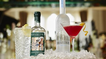 Belvedere Vodka or Sipsmith Gin Cocktail for Two