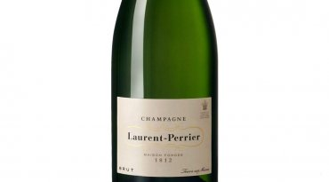 Bottle of Laurent-Perrier Champagne